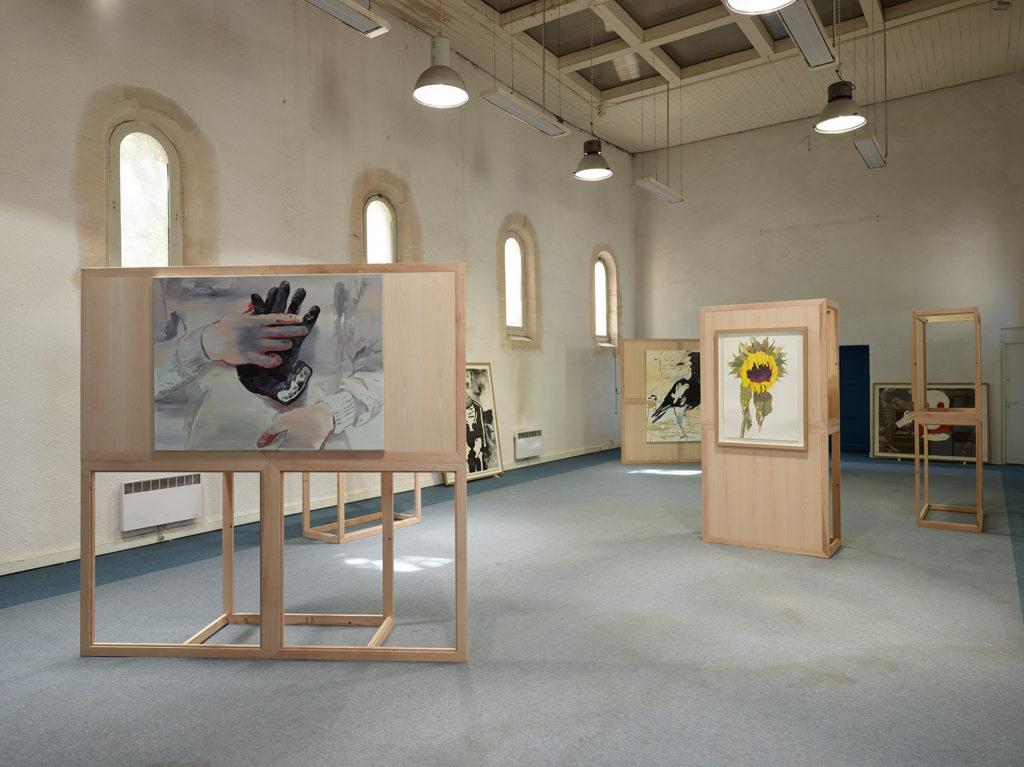 Vue de l'exposition Parcours métropolitain d'art contemporain, 2019