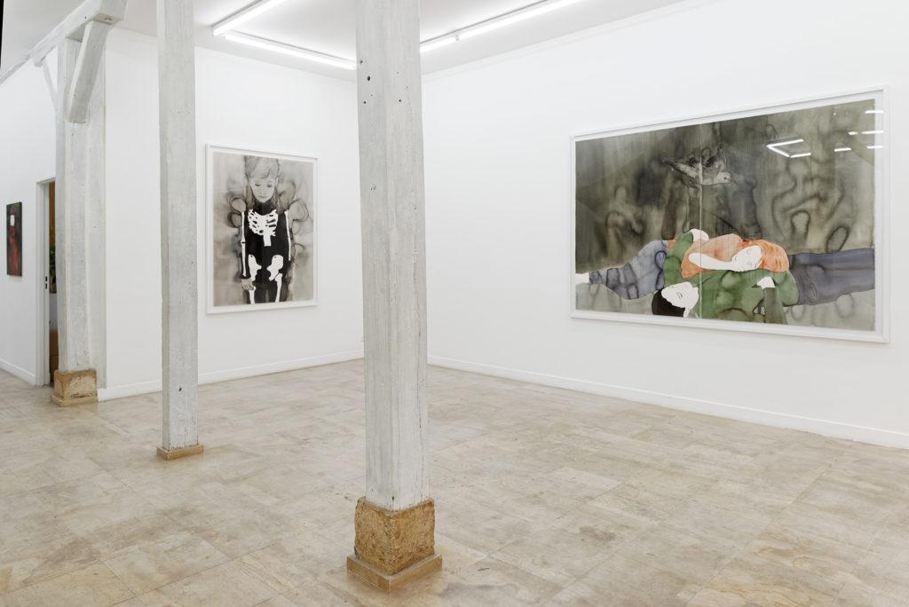 Vue de l'exposition à la Galerie Mouvements-Rue Visconti , 2015