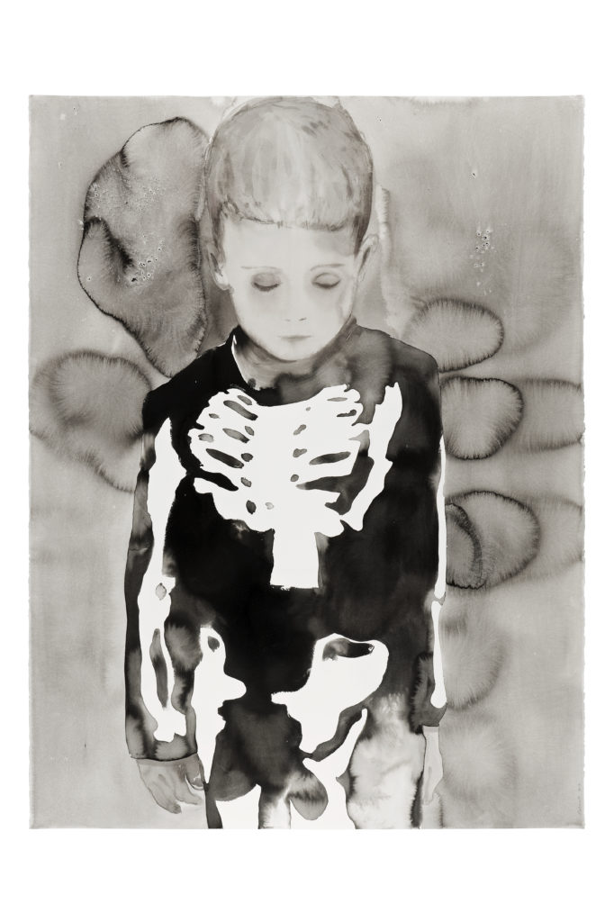 Garçon au squelette, 2013