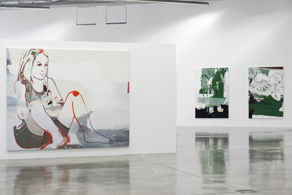 Vue de l'exposition S'absenter, 2016