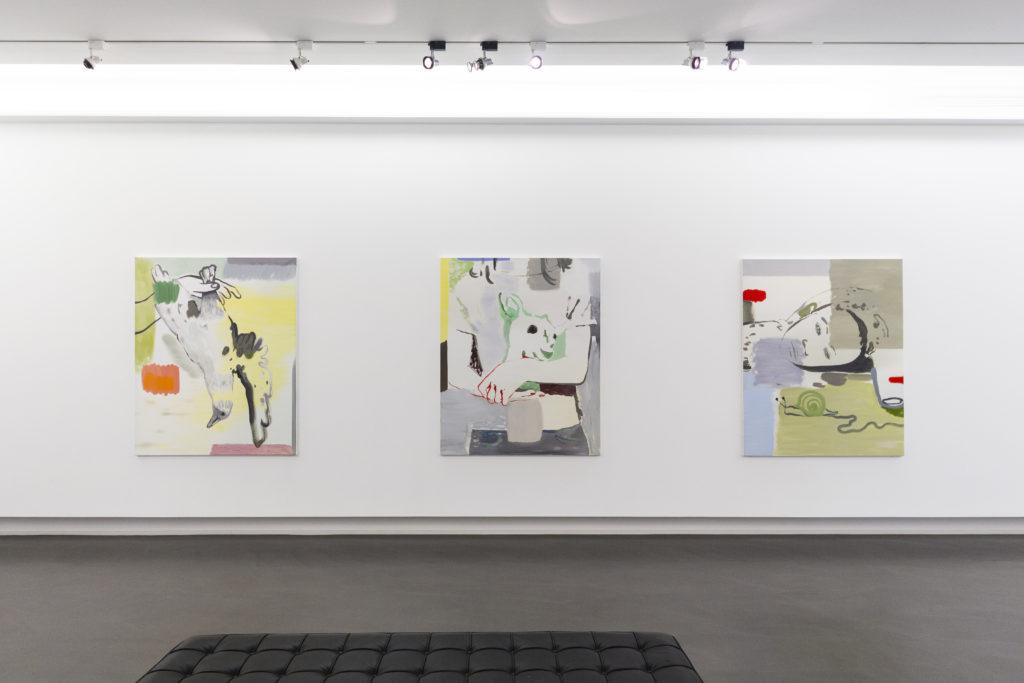 Vue de l'exposition au Centre d'Art Contemporain de la Matmut