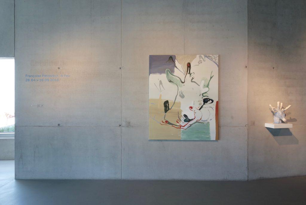 Vue de l'exposition A feu, 2018