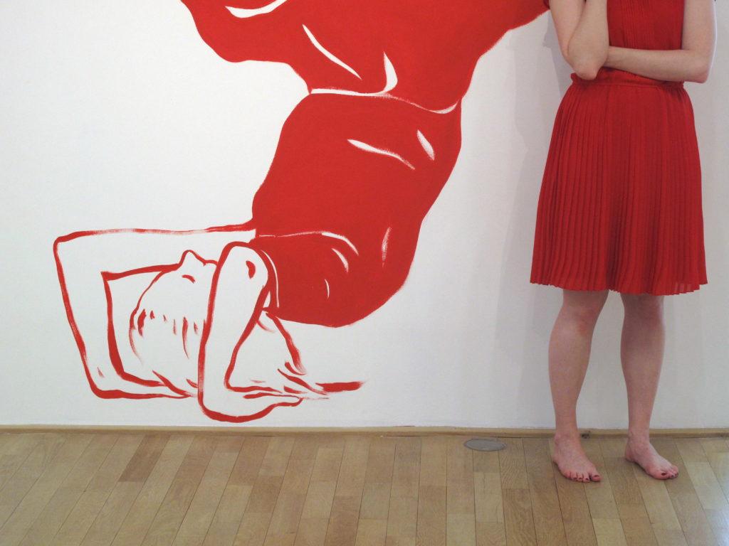 Dessin mural, 2012