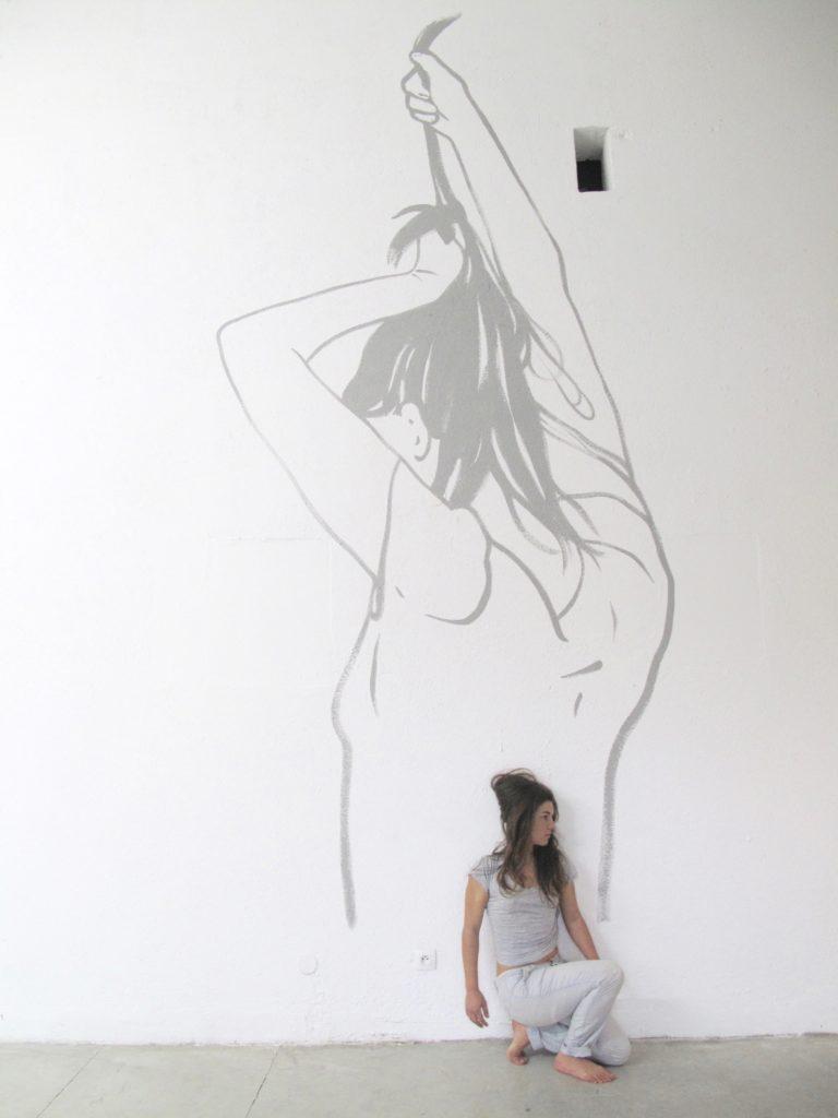 Dessin mural, 2014