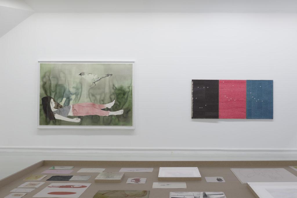 Vue de l'exposition Se fier aux apparences, 2015