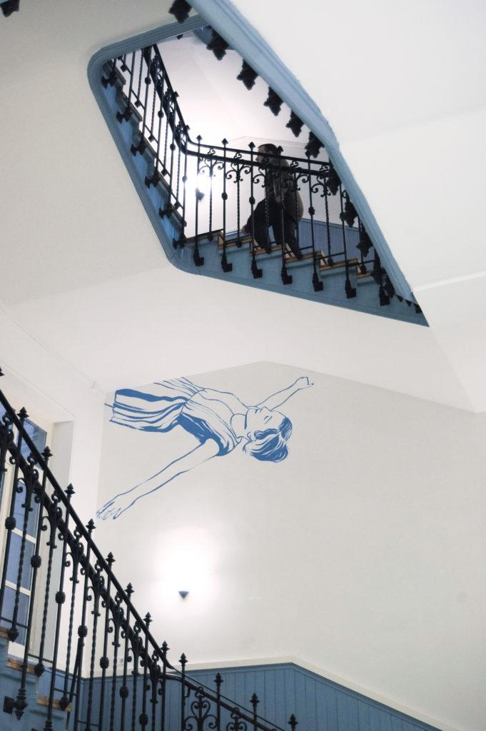 Dessin mural, 2013