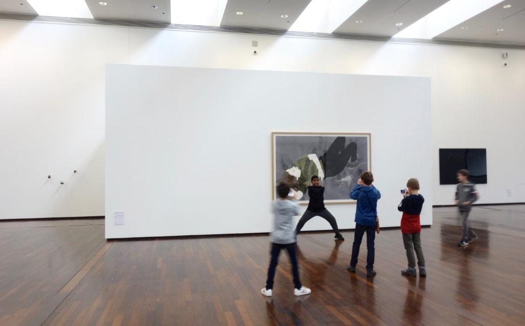 Vue de l'exposition Sans réserve, 2018