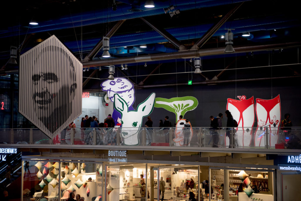 Vue de l'exposition Passer à travers, 2019-2020