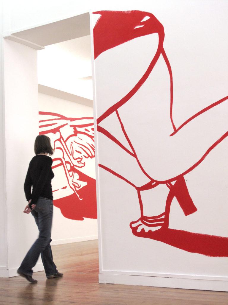 Dessin mural, 2011