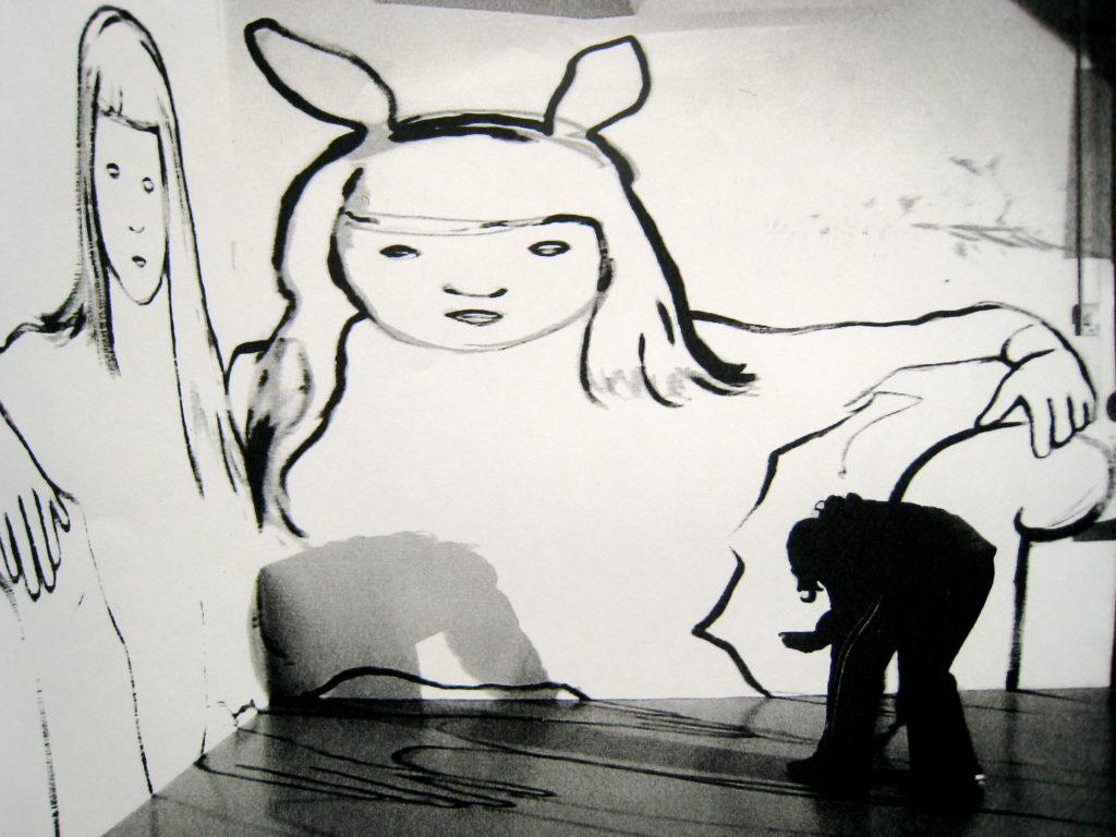 Dessin mural, 2006