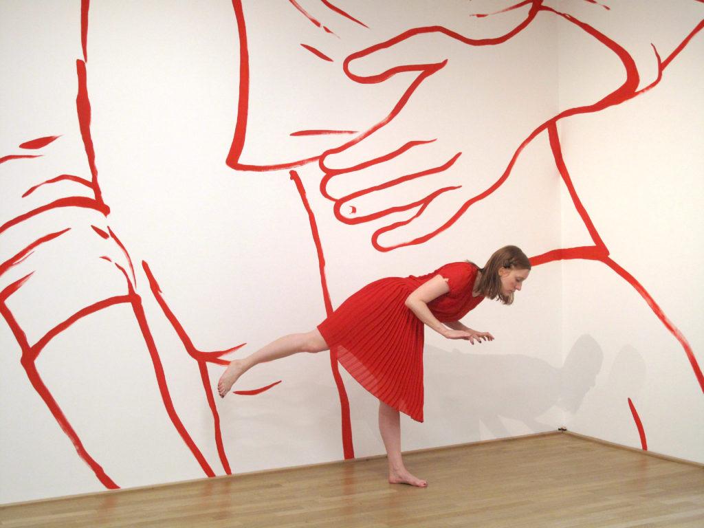 Performance dansée – Elise Ladouée