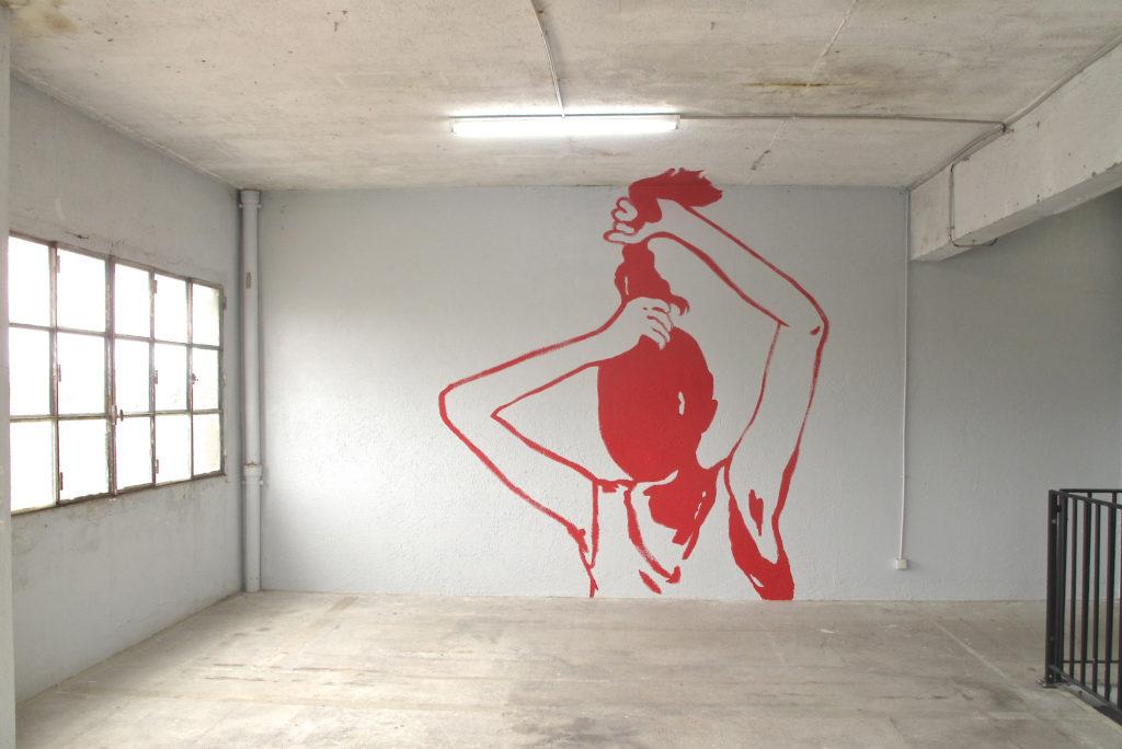Vue de l'exposition Françoise Pétrovitch & Rachel Labastie, Incertitudes des figures, 2014