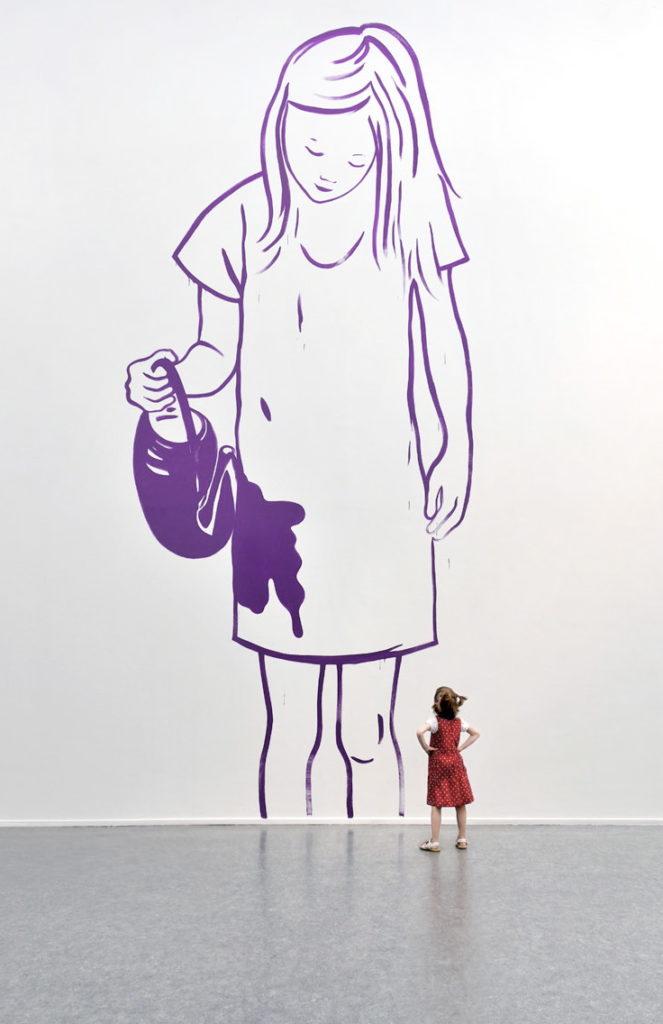 Dessin mural, 2010