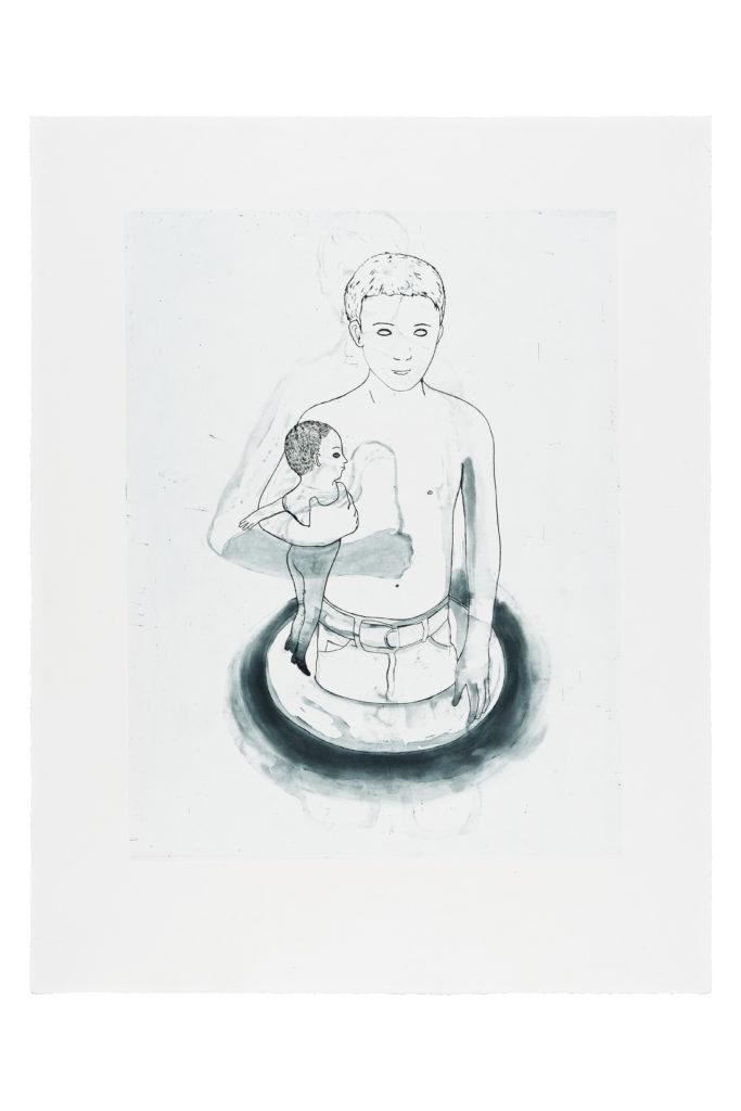 Garçon à la poupée, 2012