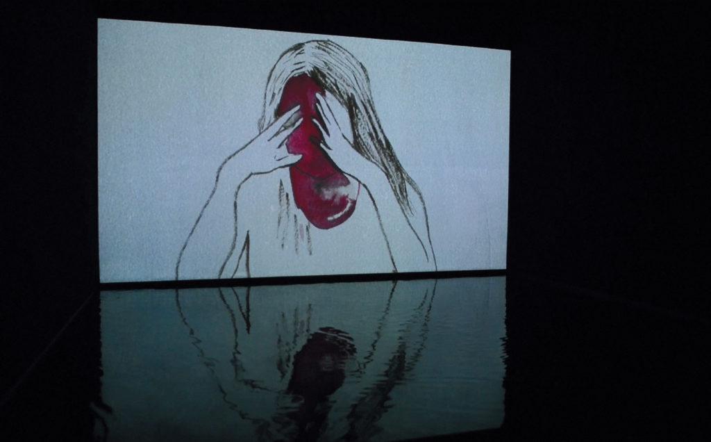 Vue de l'exposition Échos, 2013