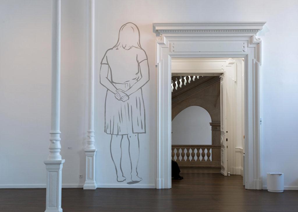 Vue de l'exposition Françoise Pétrovitch, 2014