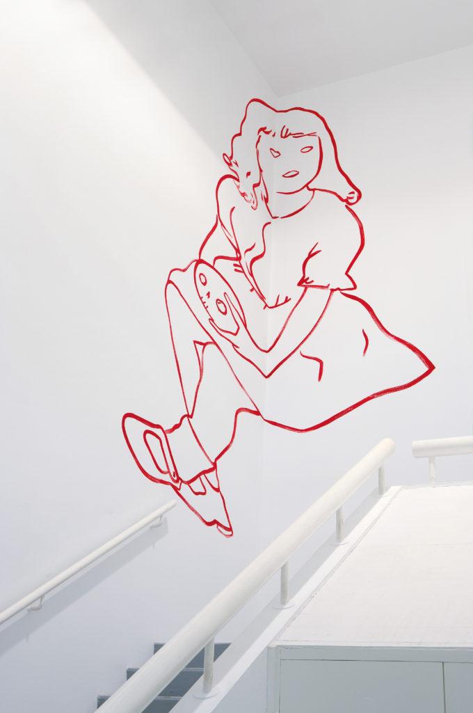 Vue de l'exposition Françoise Pétrovitch, 2008