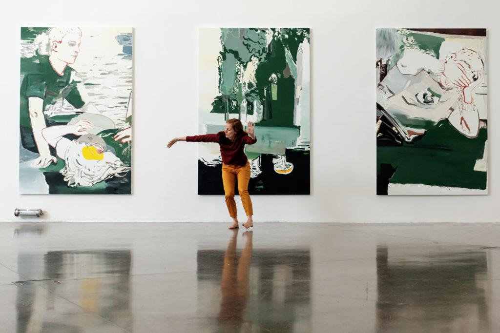 Performance dansée – Élise Ladouée
