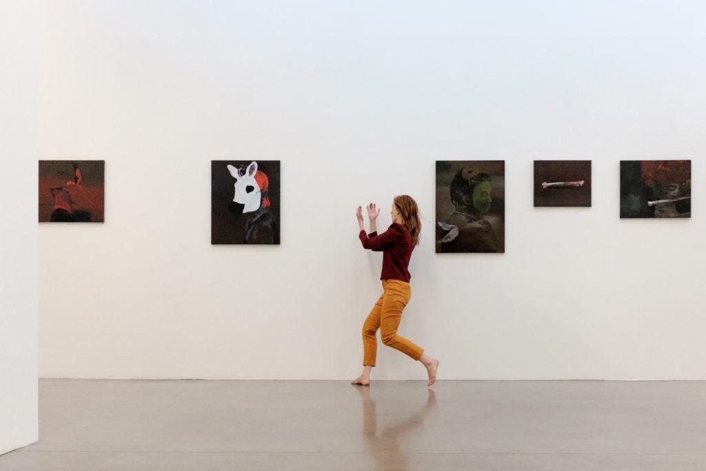 Performance dansée - Elise Ladouée