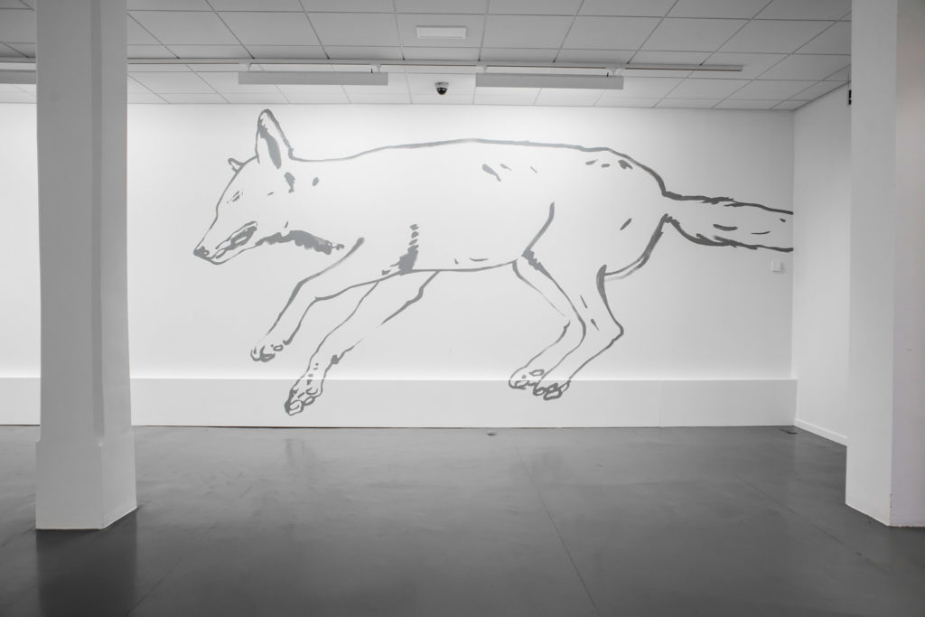 Vue de l'exposition A vif, 2018
