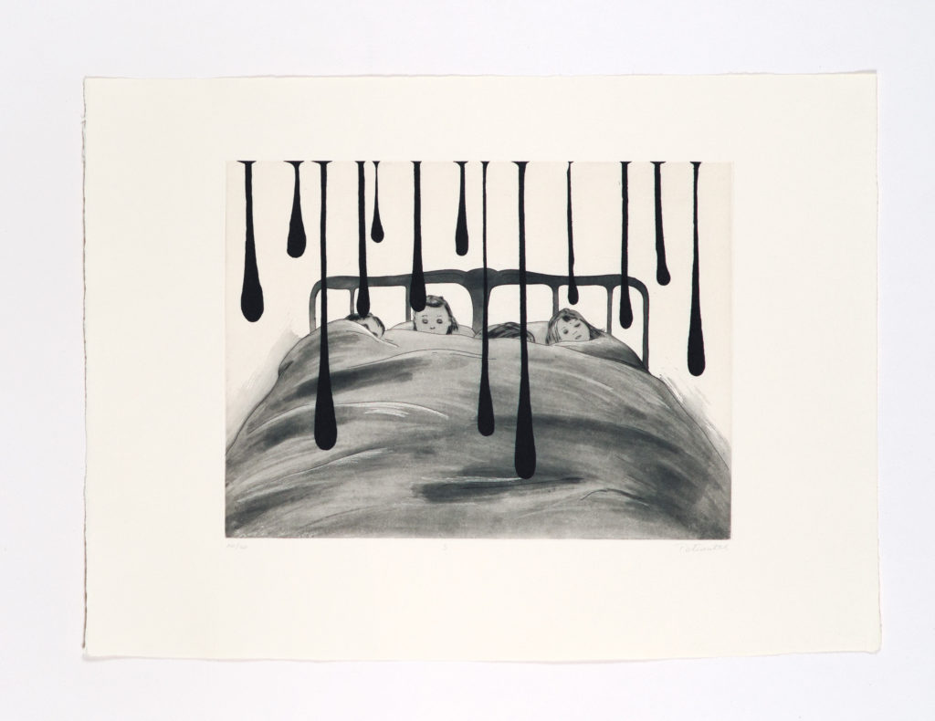 Petits dans un lit (Les Sommeils), 2011